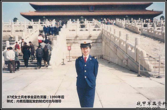 中国海军百年军服 人民海军87式军服.士兵服图片