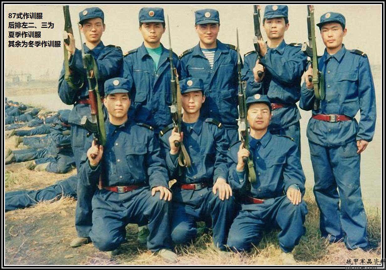 07军装冬常服-中国海军百年军服 人民海军87式军服.士兵服图片