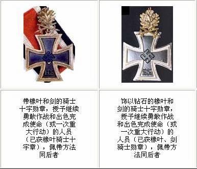 纳粹德国军衔标志图集 日本军衔标志 德国党卫军标志