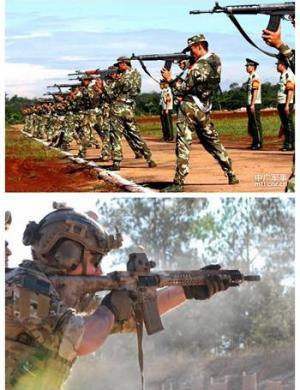 战甲讲堂:轻武器发展与射击姿势关系(众多超大GIF杀猫)
