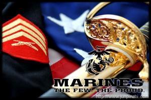 美国海军陆战队礼服佩剑