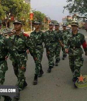 07式以来武警部队的15种作训服
