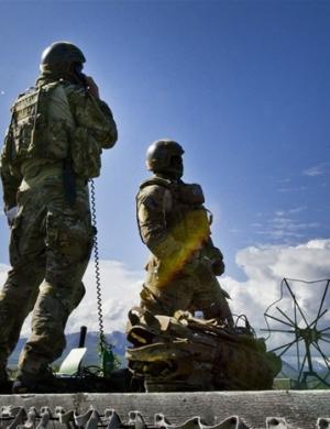 红旗阿拉斯加12-2军演中的空军地面观察员(JTAC)