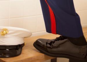 关于美军常礼服皮鞋的选择