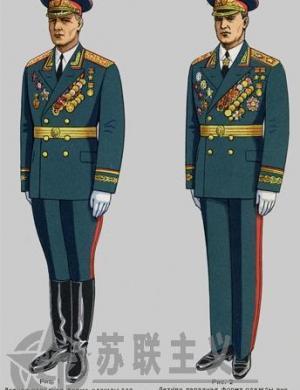 苏联武装力量军人的着装(1969年)开篇及苏联元帅和苏军高级军官军服