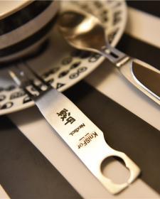 一把情调满满的餐刀——KniSFor(纳膳)刀叉勺三合一多功能户外餐具简测