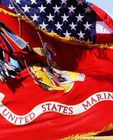 美国海军陆战队军旗上的战役与战功