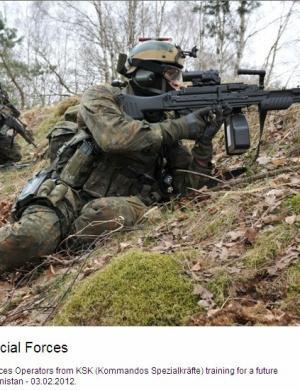 德国特种部队(KSK-Kommandos Spezialkräfte)